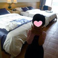 室内も広く、ベッドも大きい!