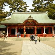 下町の神社