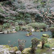 日本庭園もあります