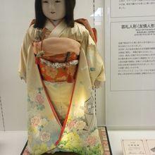 平成の答礼市松人形