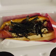 黒豚テリマヨ、刻み海苔の香りが良かったです