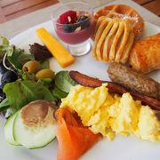朝食ビュッフェが美味しくてオススメ!