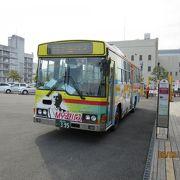 高知市内の主要スポットを網羅。