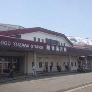 駅のホームに手湯がありました。