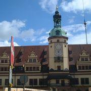 ドイツ・ルネサンス様式の市庁舎建築を代表する建築物です。