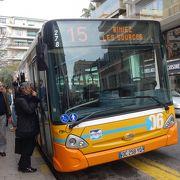 一乗車 1.50 ユーロ。シャガール/マティス美術館へは15番のバスで。