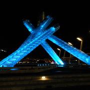 バンクーバーオリンピックの聖火台