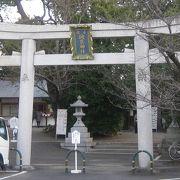 茨木三島丘に鎮座する神社