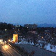 日没後の訪問は 寂しさを感じる。