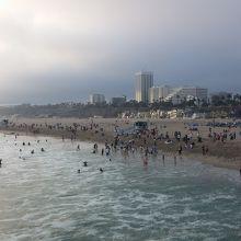 サンタモニカビーチ1