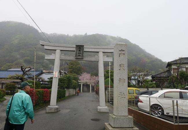 歴史ある神社