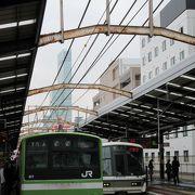 バックパッカー御用達 安宿街のJRアクセス駅