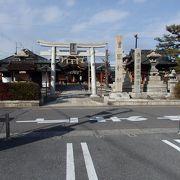 太閤秀吉のゆかりの神社