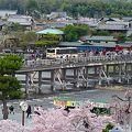 渡月橋と阪急嵐山駅の中間にあり、便利なビジホです。