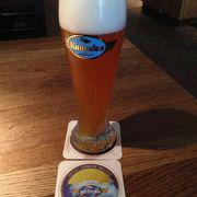 空港内でできたビール!