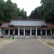 宮崎神宮の近くに