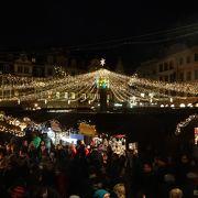 綺麗なクリスマスマーケット
