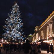 大きいクリスマスマーケット