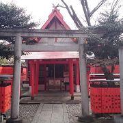 「車折神社」の境内にある「芸能神社」