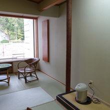 筑波山側のお部屋