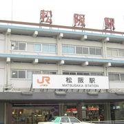 JRと近鉄の駅があります。
