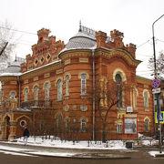 イルクーツク観光「グリーンライン」の起点です