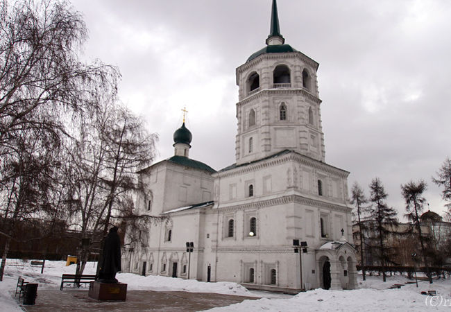 東シベリア最古の教会建築