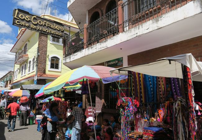 チチカステナンゴのマーケット