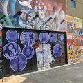 写真:壁画アート ウォーク ツアー