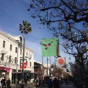 サンタモニカの商店街