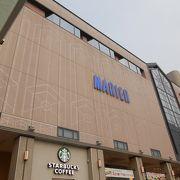 富山駅前の商業施設
