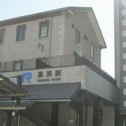 新しい駅舎です。