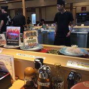 佐渡産のお寿司がたくさん。