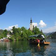 スロヴェニアにある唯一の天然の島。