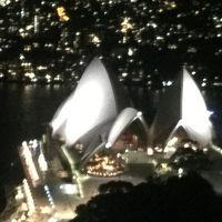 31階・クラブラウンジからの夜の眺望。