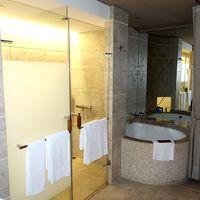 ドアすぐ横にある特異な浴槽