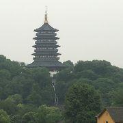雷峰塔からの風景