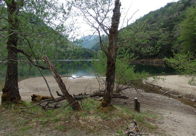 刈込・切込湖を散策しました