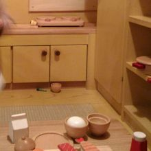 木製おもちゃがたくさん