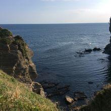 ダイナミックなリアス式海岸。迫力があります。