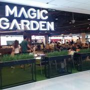 ドンムアン空港国内線の巨大なフードコート