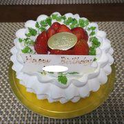 誕生日ケーキを購入♪