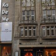 ベルリンのデパート