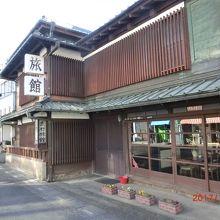 江戸時代の旅籠で今はビジネスホテル