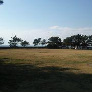 公園敷地からは東京湾の海の景色を眺めることが出来ますが、以外はほぼ普通の公園