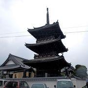 江戸末期の三重塔 そんな時期によく建てたものだ
