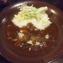 浜豚カレー(ご飯少な目)