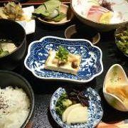 湯田温泉のホテルで食べる和食