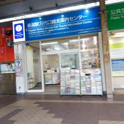 新潟駅前にあります。