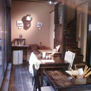 すてきな雰囲気のカフェです。